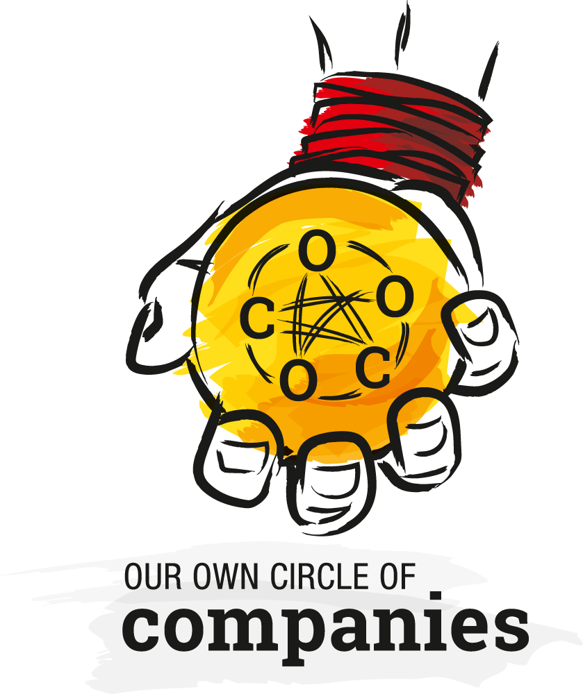 Beispiel eines illustrierten Logos