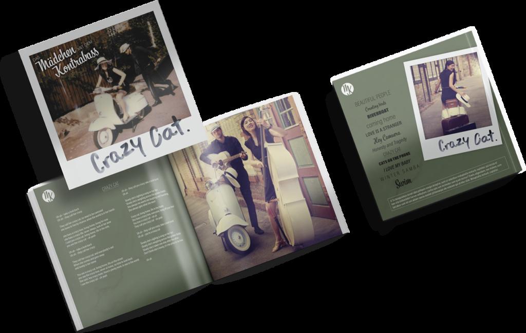 Besipiel einer Booklet-Gestaltung